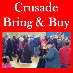 Bring and Buy stall At Crusade Wargames Show - download forms