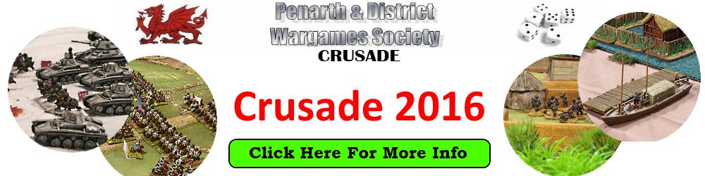 Crusade 2016 Wargames Show Cardiff